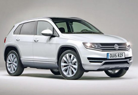 Volkswagen розкрив секрети нового Tiguan (Фото)