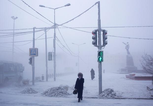 Найхолодніше місто у світі (ФОТО)