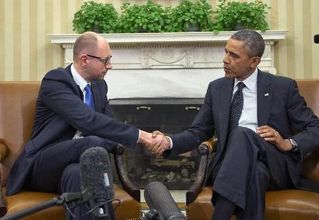 Підсумки переговорів Барака Обами з Арсенієм Яценюком