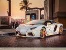 ОАЕ показали золотий Lamborghini (фото)