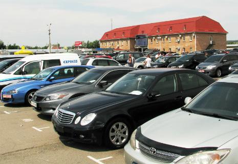 Ринок б/у автомобілів скоротився на 81%