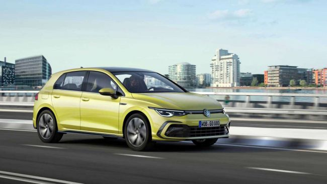 Volkswagen презентував Golf 8-го покоління