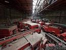 Знайдено сарай, переповнений пожежними автомобілями з усіх епох (фото)