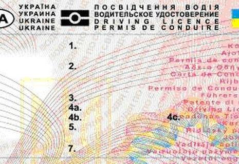 За нові водійські права доведеться викласти 358 гривень