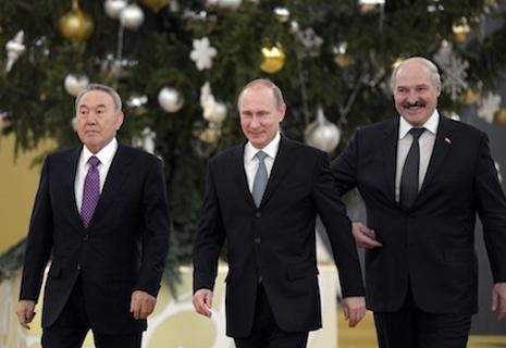 Росія, Білорусь і Казахстан створили Євразійський економічний союз