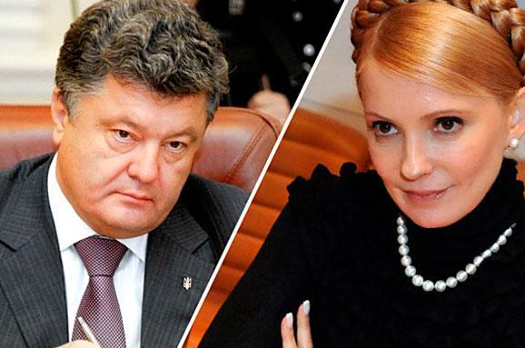 Еxit poll: Українці обрали президентом шоколадного барона
