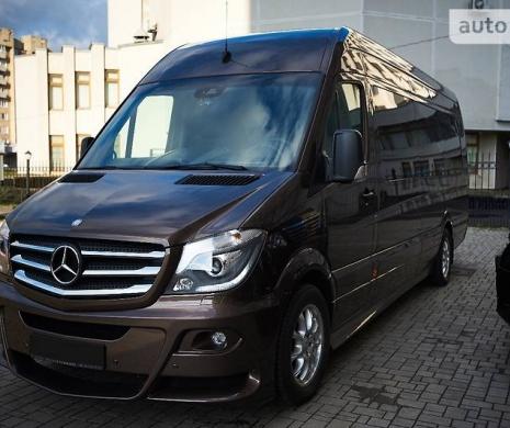 В Украине продают премиум Mercedes Sprinter за 5 млн. гривен (ФОТО)