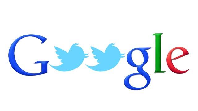 Google ������� ������ Twitter �� ����� ����