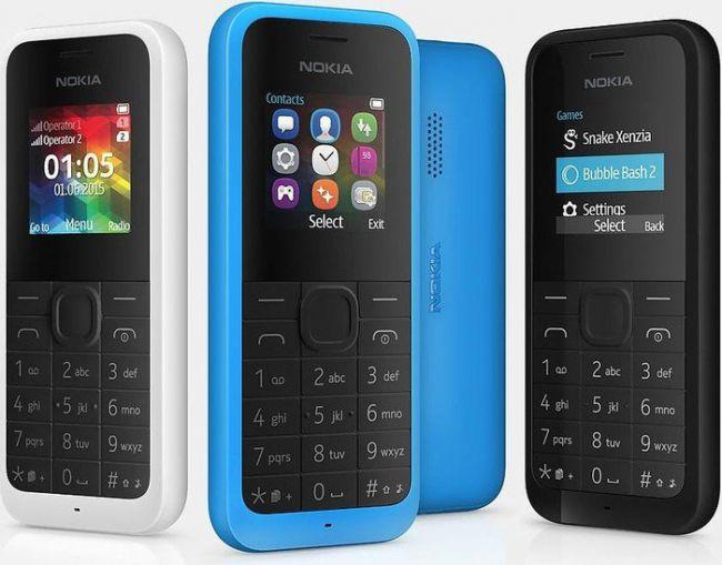 Nokia запустили у продаж кнопкові телефони 2019 року